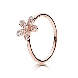 Pandora Rose™ Dazzling Daisy Ring with Clear CZ
